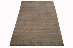 10X14-Moroccan-Hand-Knotted-Oriental-Wool-Area-Rug-9-11-x-13-9-Line-Diamond
