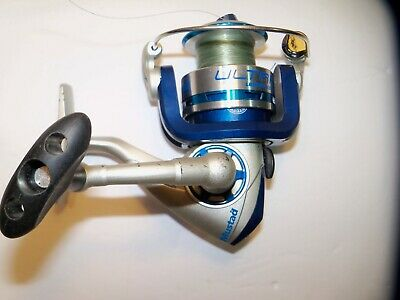 Mustad Ultra PT 3000 Spinning Reel 5.2 1 Gear Ratio 2 Roulements Aluminum Spool