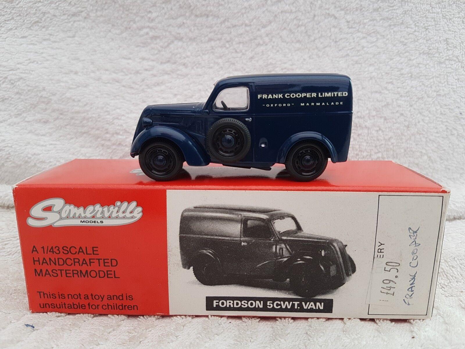 Somerville Models Fordson 5CWT Van Frank Cooper Oxford Marmalade Ltd Ed 1 43