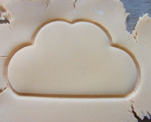 Cloud Sky Shape Cookie Cutter Biscuit Pastry Fondant Stencil Weather NA5