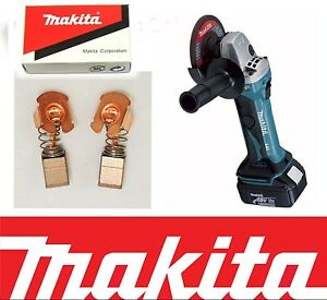 Carbon Brushes For Makita Angle Grinder Chainsaw Cutter Hammer Drill Saw CB430