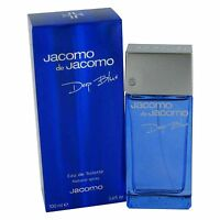 Jacomo De Jacomo Deep Blue For Men-edt-spray-3.4 Oz-100 Ml-made In France