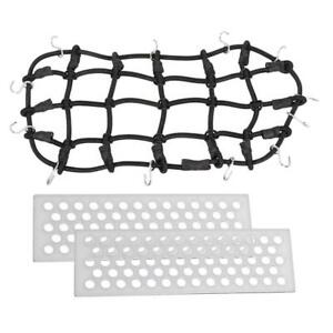 1-10-RC-Elastic-Luggage-Net-with-2pcs-Metal-Sand-Ladders-for-1-10-RC-Crawler
