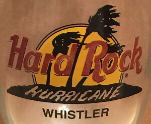 Hard-Rock-Cafe-WHISTLER-Hurricane-Glass-with-Classic-HRC-Logo-amp-Palm-Trees-WEAR