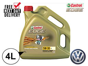 CASTROL EDGE 5W-30 4L LL03 Engine Oil **WAREHOUSE CLEARANCE**VW504/50700**15668E