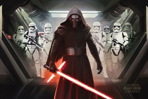 VII kylo RIN e Stormtroopers pp33658-POSTER-NUOVISSIMO STAR WARS EPISODIO 7