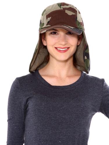 Camping Hiking Outdoor Neck Flap Safari Bucket Cover Sun Flap Hat Cap