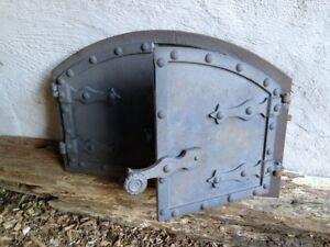 Details zu Brotbackofen selber bauen hochwertge Gusseisen Tür für ein  Steinofen