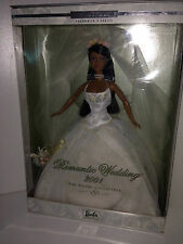 ECHTES RAR!!!Barbie Collector Romantic Wedding 2001 African American  NRFB