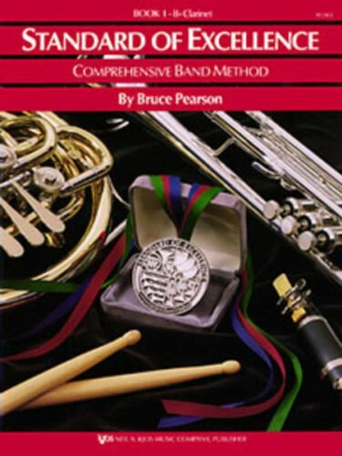 "KJOS /""STANDARD OF EXCELLENCE/"" CLARINET MUSIC BOOK 1 BRAND NEW BAND ON SALE!!"