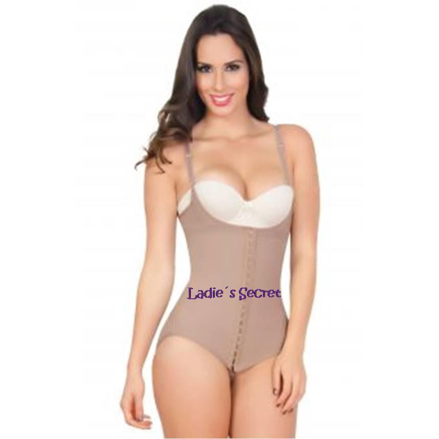 Faja Colombiana de women Body Panty Levanta Cola 3 Hooks, Post-Surgery Post Lipo