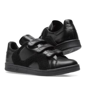 7f59507f0d8 Image is loading ADIDAS-X-RAF-SIMONS-STAN-SMITH-COMFORT-BADGE-