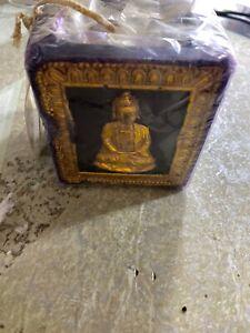 Bill-Blass-Home-Decor-Vintage-Rare-Buddha-Wax-Candle