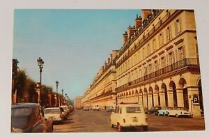 Carte-Postale-PARIS-La-Rue-de-RIVOLI-Editions-BORDE-Vintage