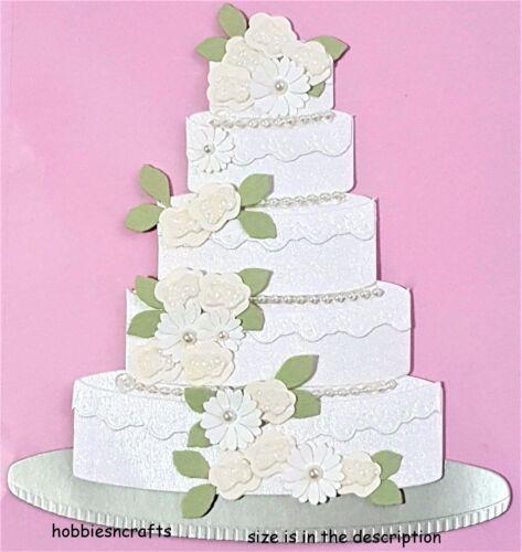 EK Success Jolee/'s par vous autocollants 3D Mariage grand gâteau de mariage /& fleurs