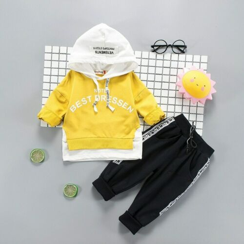 Baby T-shirt Pant for Baby Girls and boys autumn Spring Outfits Suit New Fashion