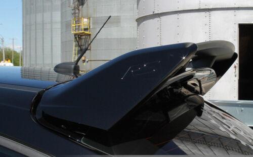 Rear SILVER Spoiler Lip Wing Riser Raiser Kit For 13-18 Ford Focus ST Hatchback