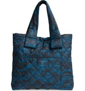 c597158af078 Marc Jacobs Womens Knot Camo Print Nylon Tote Navy Multi for sale ...