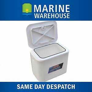 30LTR-Flowrite-Livewell-Bait-Tank-With-Access-Lid-Through-Deck-Mount-508687