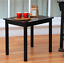 mainstay side table, black