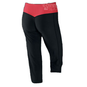 Nike Legend Dri-Fit Womens Capri Cropped Booty Legging Pants Black Sz S