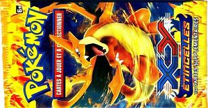 ① 1 Booster Cartes Pokemon Neuf Mega Dracaufeu Orange Xy2