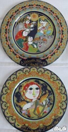 bjørn wiinblad juleplatte 1971 pris