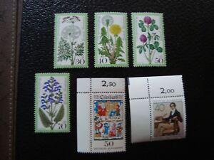 Germany-Rfa-Stamp-Yvert-Tellier-N-796-A-801-N-MNH-CAM1