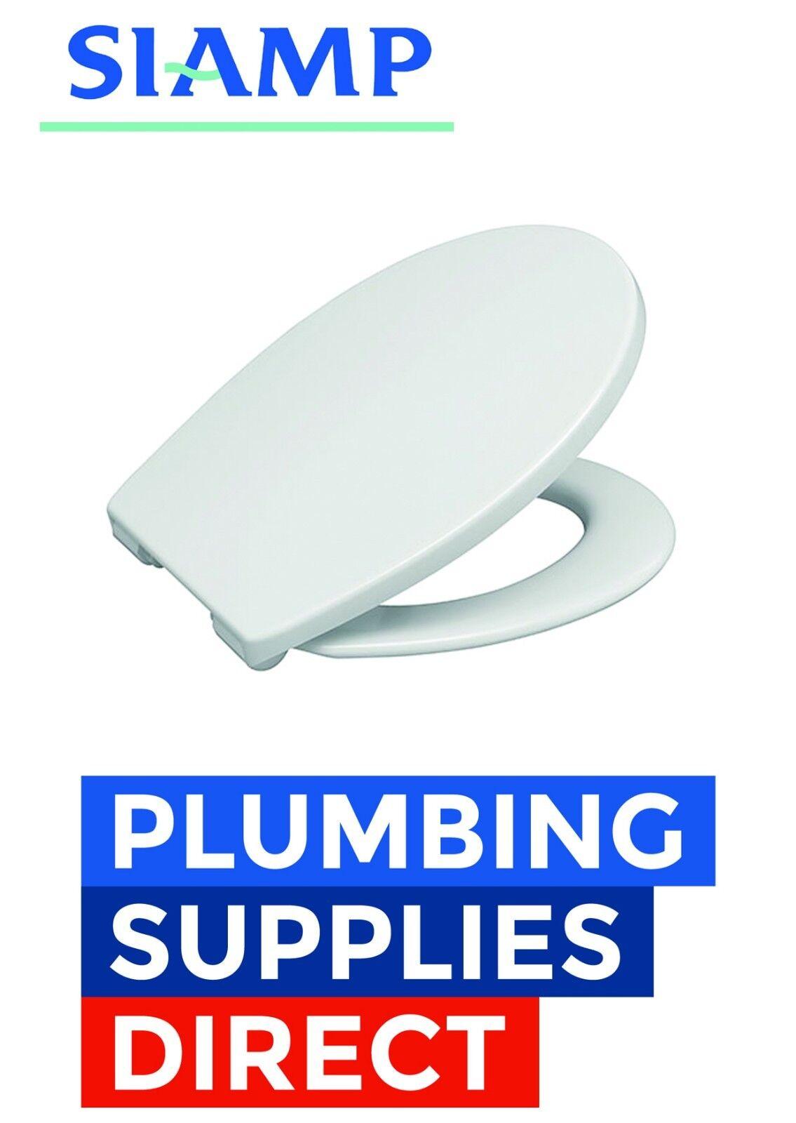 Siamp-Abattant Premium Thermodur plastique siège soft close Charnières - 60 6980 00