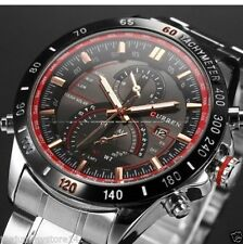 CURREN Brand Auto Calender Steel Band Business Casual Watch For Men WIth Box