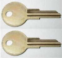 (2)century Jason Rv Truck Cap Replacement Keys Cut To Key Codes K125-k173
