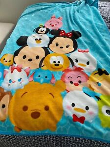 Tsum-Tsum-Plush-Microfiber-Fleece-Blanket-Throw-Mickey-Minnie