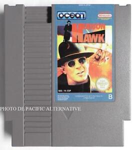 jeu-HUDSON-HAWK-sur-nintendo-NES-Y4-ESP-game-spiel-juego-gioco-bruce-willis-TBE