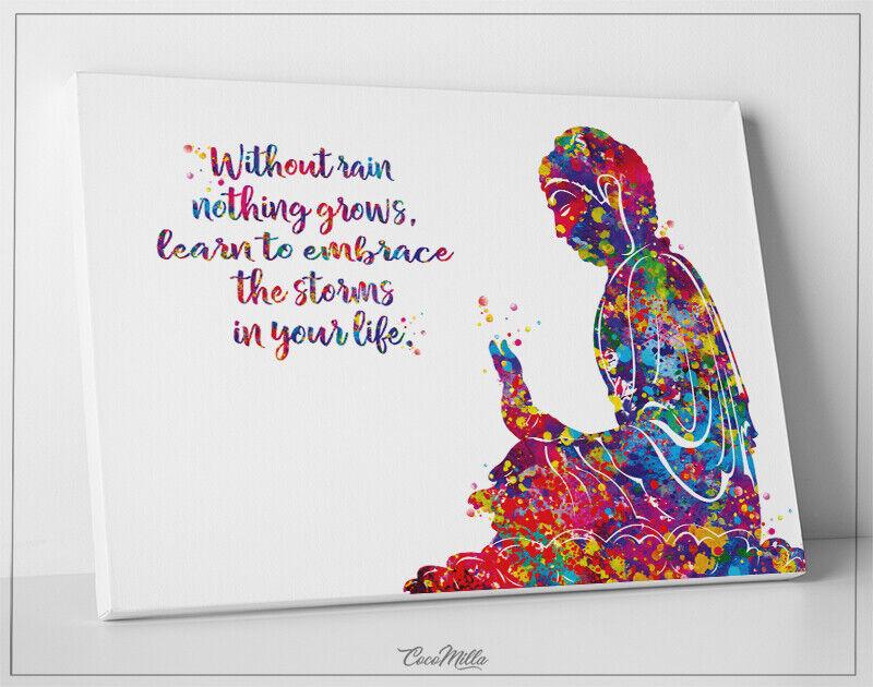 Buddha Living Radiance Lotus Meditation Yoga Art Print Poster 22x34 For Sale Online Ebay