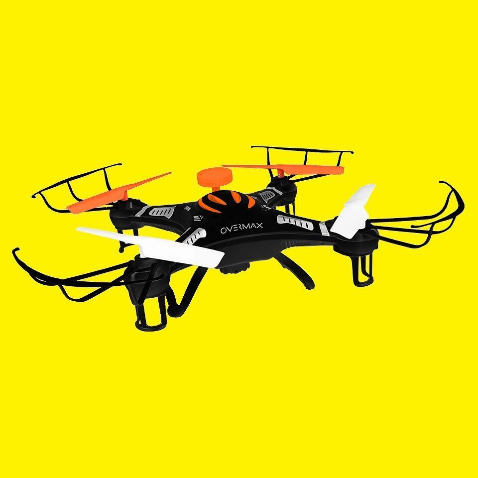 Quadrocopter/Drone con fotocamera HD/6 assi giroscopio gravitazionale/SD 4gb/fino a 100m/x-bee dro