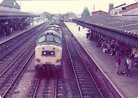 British Rail 37211 Hereford 6x4 inch Rail Photo C