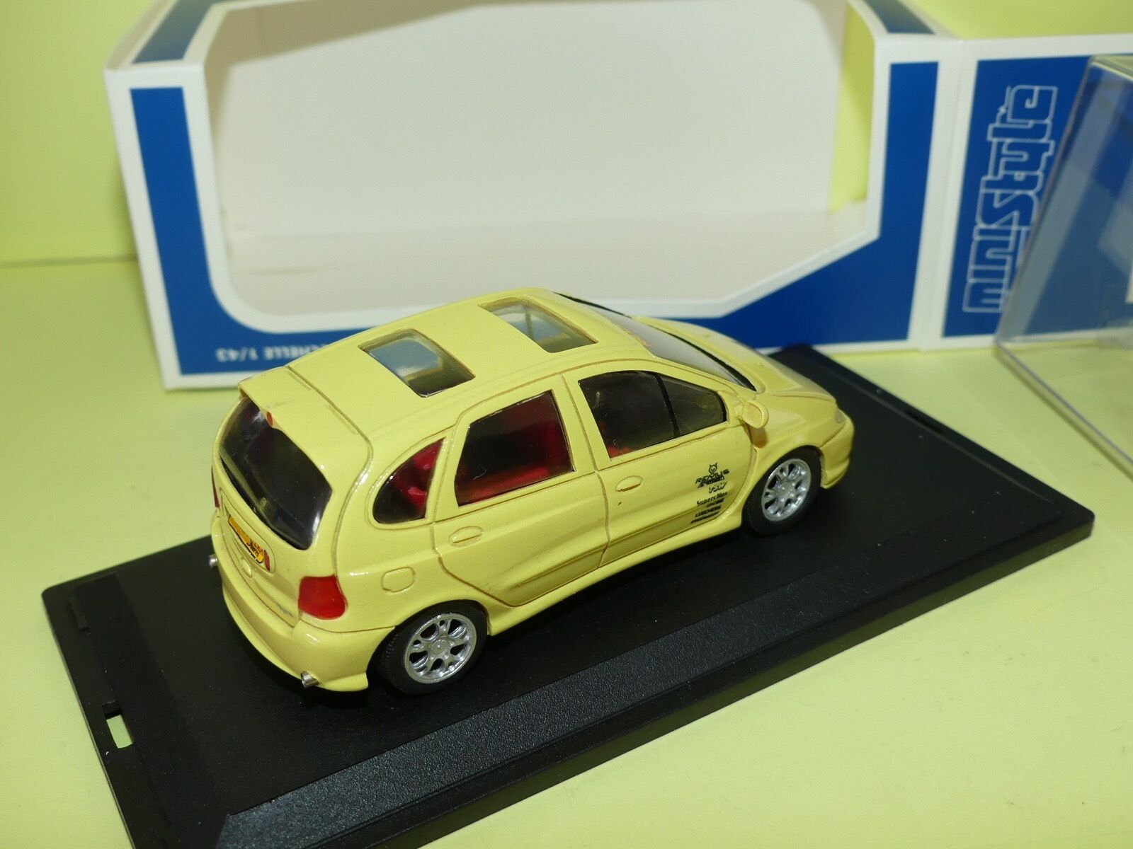 RENAULT SCENIC SBARRO CESAM MINISTYLE 1 43 43 43 1a93af