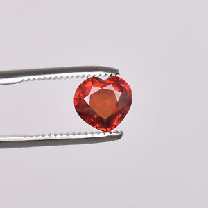 5.80Ct Natural Padparadscha Orange Sapphire Heart Shape Loose Certified Gemstone