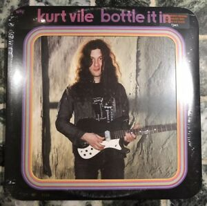 Kurt Vile Bottle It In Limited Dinked Edition Number 269/700 Splatter Vinyl New