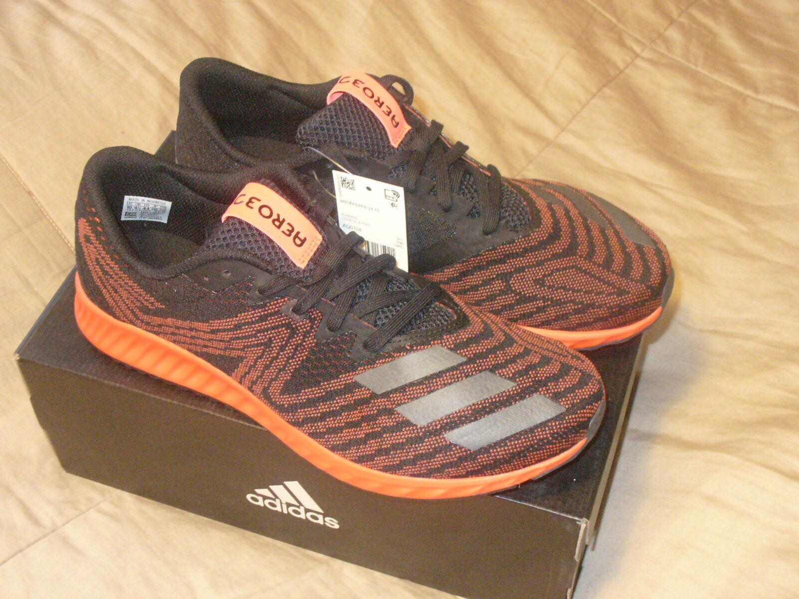 Adidas Hombres aerobounce pr  calzado atlético continental, Negro Metalizado Rojo Solar, 10M.  orden en línea