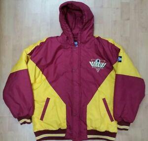 the latest 418f4 5c0b2 Details about NFL Washington Redskins Logo 7 Winter Men's Large Jacket