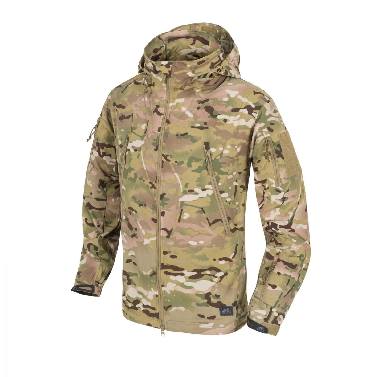 Helikon-Tex Trooper LEICHTE FUNKTIONSJACKE SOFTSHELL -StormStretch®- Camogrom