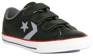 Converse Converse Juniors Star Player OX Trainers (Black)