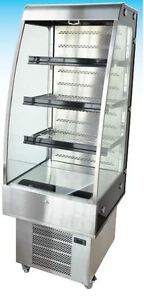 OMCAN-8-8cf-Open-Commercial-Refrigerated-Display-Case-BRAND-NEW-FULL-WARRANTY