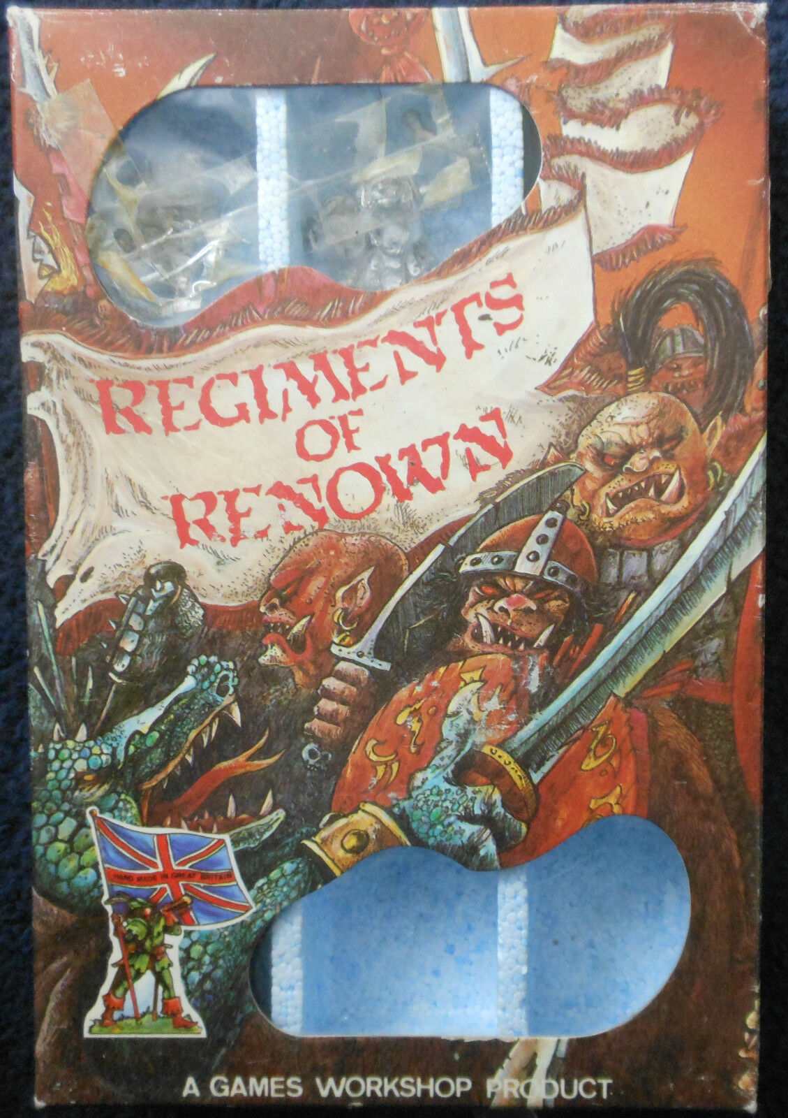 1985 Golgfag's Other Regiment Of Of Mercenary Ogres RRD12 Citadel Renown RR8 MIB GW