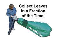 Leaf Blower / Vacuum, Huge Replacement Bag, Leaf Vacuum, Monster Leaf Bag, Ez On