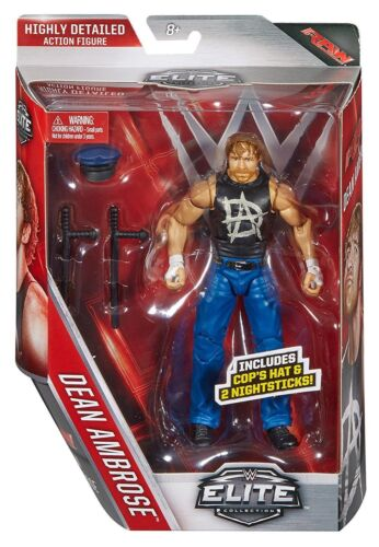 WWE Dean Ambrose lo shield 41 Elite ACCESSORI SERIE MATTEL WRESTLING FIGURE