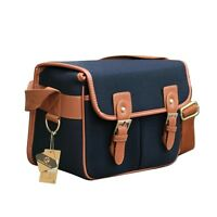 Vintage Canvas Camera Bag Shoulder Messenger Bag For Canon Nikon Sony DSLR SLR