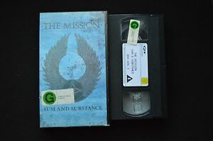 THE-MISSION-SUM-AND-SUBSTANCE-RARE-PAL-VHS-VIDEO