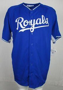 Kansas-City-Royals-MLB-Men-039-s-Cool-Base-Replica-Big-amp-Tall-Jersey